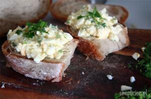 pasta jajeczna z mascarpone