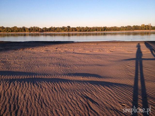 narew wisła rzeka plaża warszawa pies weekend czas wolny