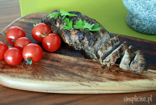 Trochę świń(toszenia) czyli ziołowe polędwiczki wieprzowe