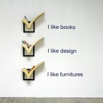 11 niebanalnych półek na książki