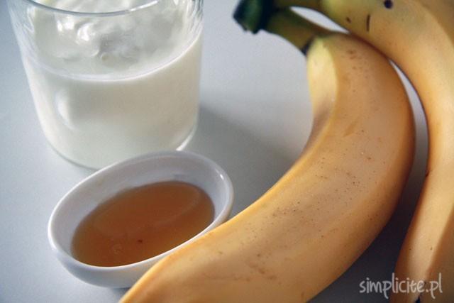 przepis na lody bananowe