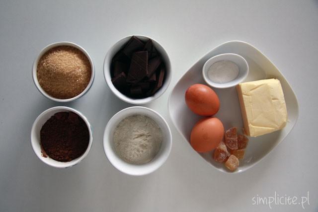 przepis na brownie