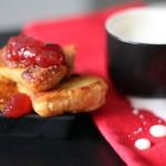 Gdy w lodówce pusto… śniadanie w stylu francuskim :).