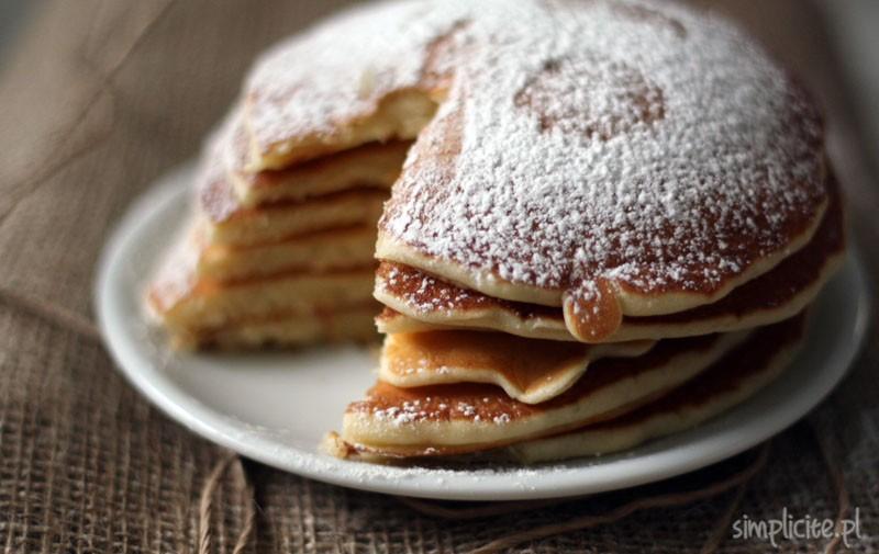 przepis na naleśniki amerykańskie pancake