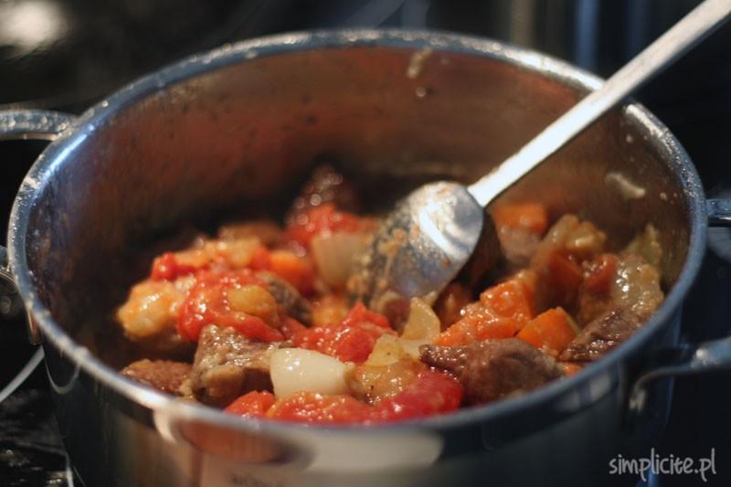 potrawka z wołowiny na ostro