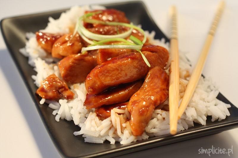 Kurczak w glazurze po japońsku. W 20 minut!