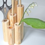DIY: drewniany przybornik na biurko