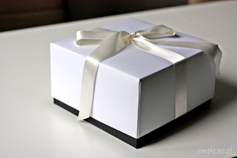 Bardzo dobra Wakacyjne DIY: pudełko na prezent ślubny + kartka ślubna - Simplicite JQ29