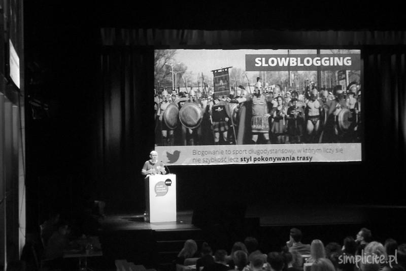 Slowblogging. Relacja z Blog Forum Gdańsk