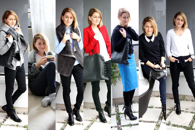 Szafa Minimalistki (capsule wardrobe). Listopad 2014. Tydzień 2