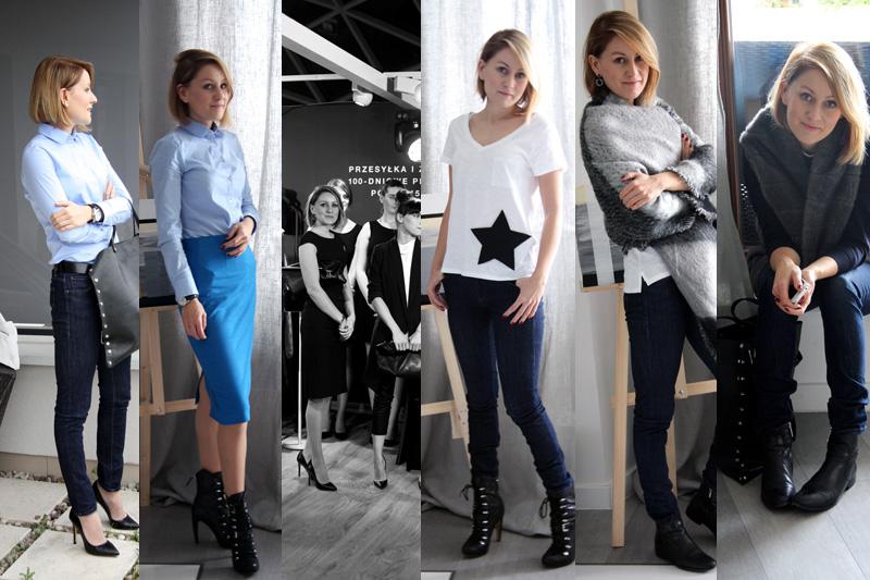 Szafa Minimalistki (capsule wardrobe). Listopad 2014. Tydzień 3