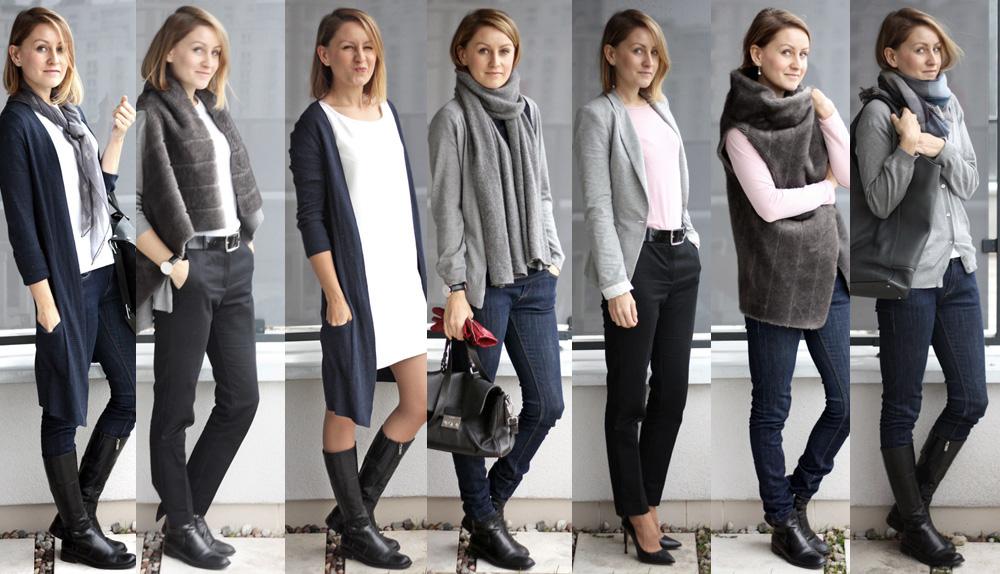 szafa minimalistki capsule wardrobe slow fashion minimalizm