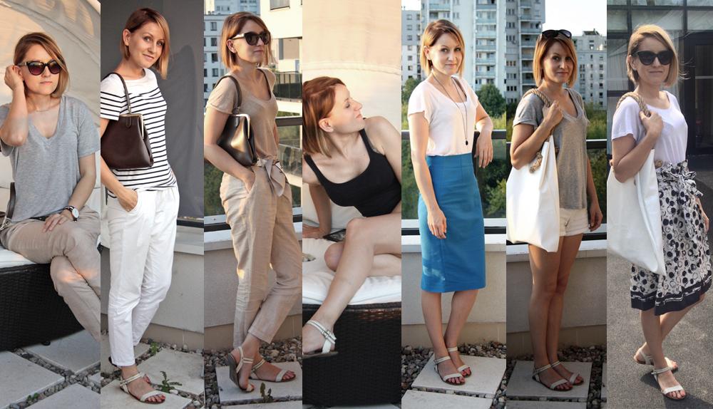 szafa minimalistki, capsule wardrobe, slow fashion