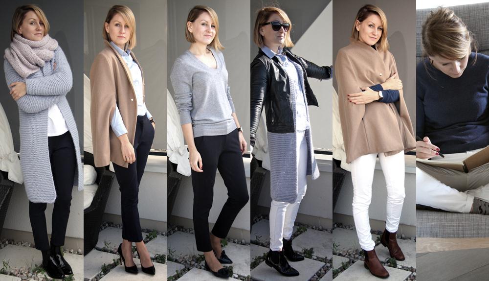 Szafa Minimalistki (capsule wardrobe). Październik 2015. Tydzień 2