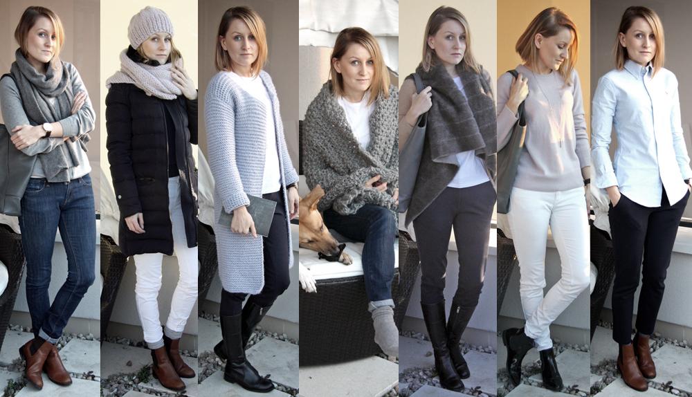 Szafa Minimalistki w wersji capsule wardrobe. Zima 2015/16. Tydzień 4