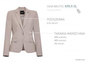 ile kosztuja ubrania simplicite 2