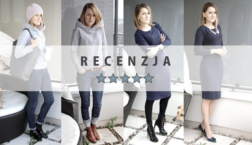 Recenzje ubrań z Szafy Minimalistki: Bluza Risk made in Warsaw i sukienka After Hours