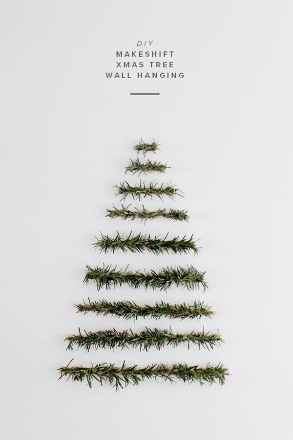 minimalistyczne dekoracje swiateczne