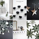 DIY: najpiękniejsze minimalistyczne dekoracje świąteczne