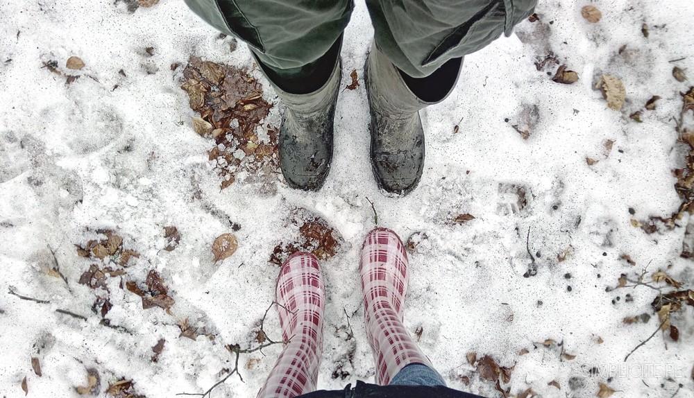 Zimowe migawki i nasz slow weekend na Warmii