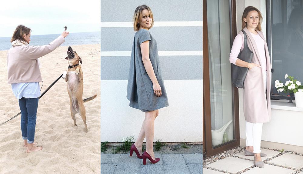 Szafa Minimalistki – zestawienia z mojej wiosennej capsule wardrobe #1