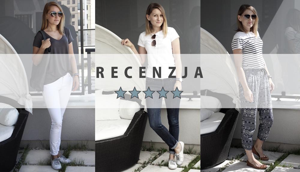 Recenzje ubrań z Szafy Minimalistki: koszulki Lidl, H&M, Massimo Dutti i Zara