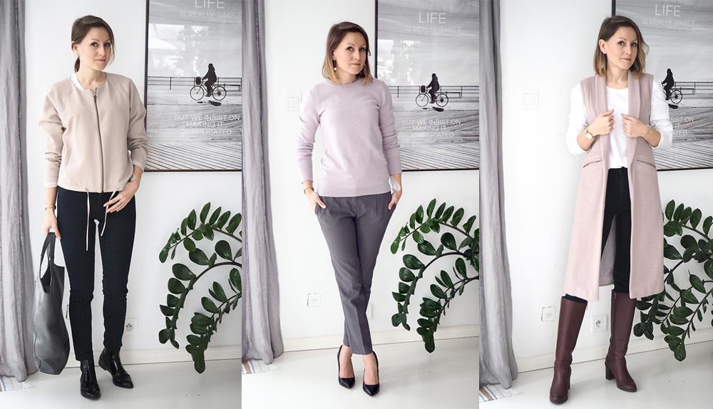 Szafa Minimalistki – moje codzienne zestawienia i podsumowanie, ile wydałam na ubrania w 2017 roku