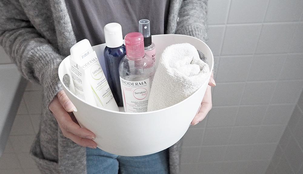 Toaletka Minimalistki – pielęgnacja twarzy i historia moich zmagań z trądzikiem