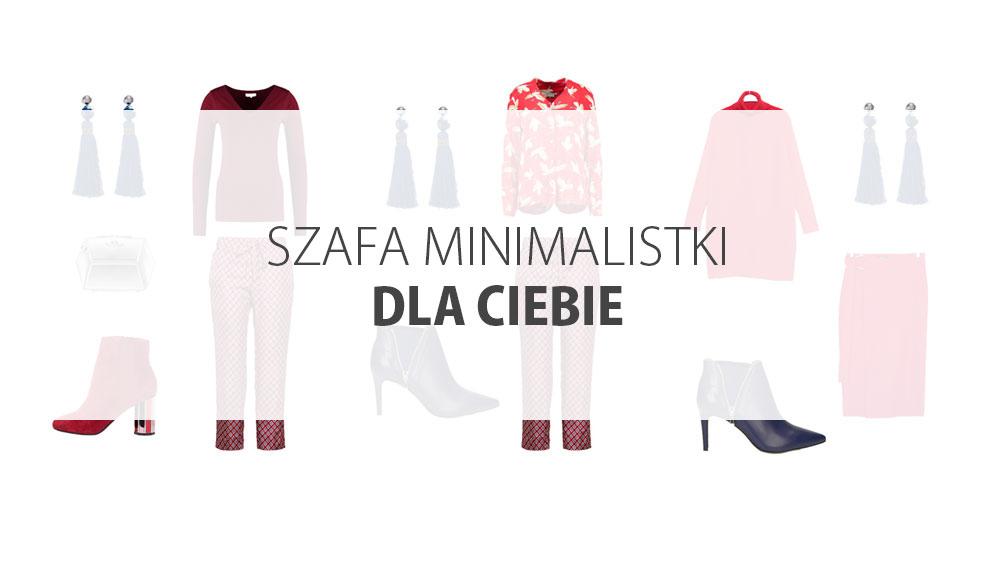 Szafa Minimalistki dla Ciebie. Kolorowa capsule wardobe w stylu smart casual