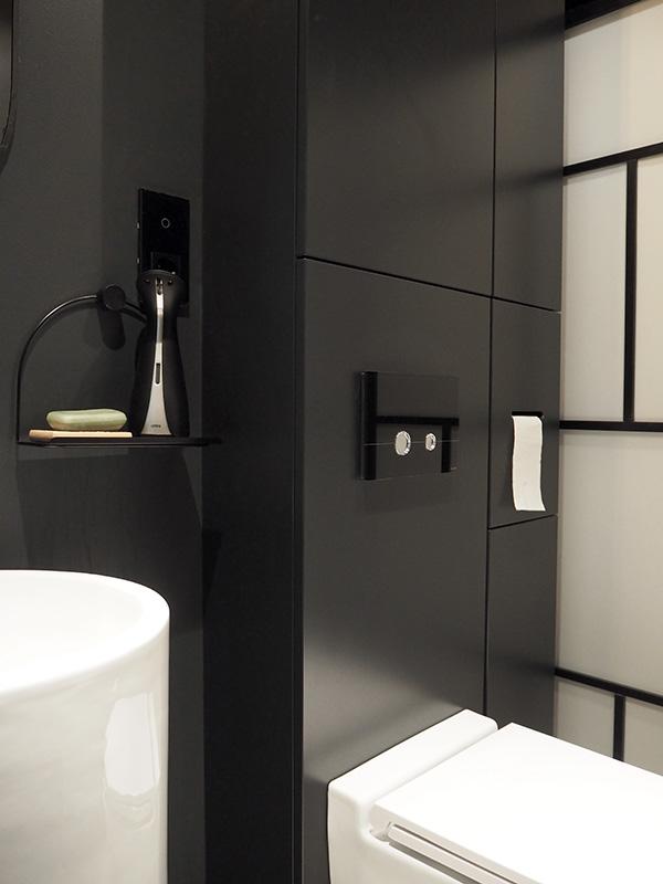 Czarna łazienka I Inne Kolory W Naszym Domu Zielona ściana