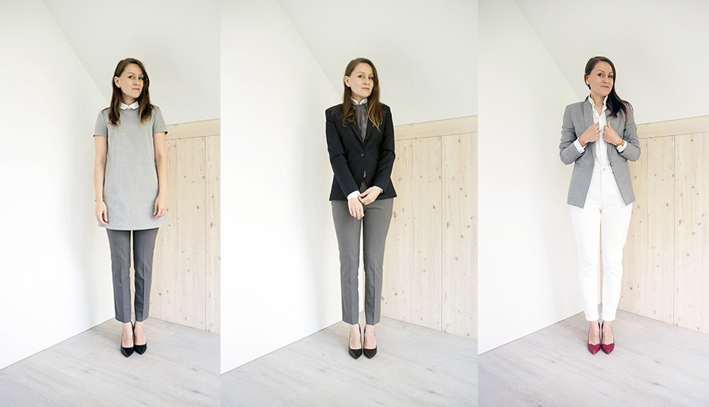 Capsule wardrobe do biura
