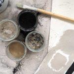 DIY: malowanie naturalnymi pigmentami z węgla i popiołu