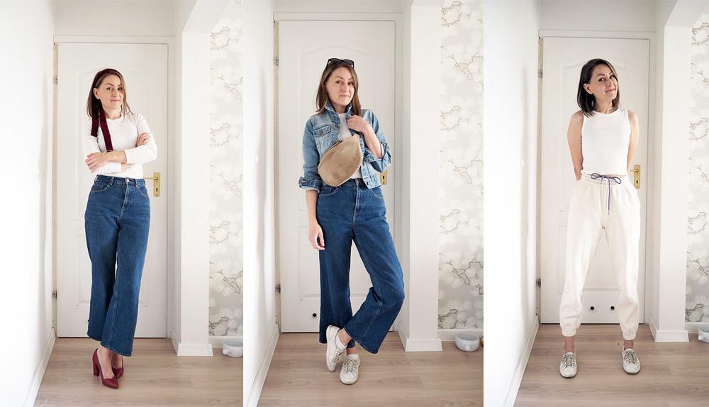 Wiosenna Szafa Minimalistki – moja szafa kapsułowa w nowej odsłonie