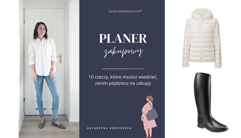Moje najlepsze i najgorsze zakupy ubraniowe + Planer zakupowy do pobrania